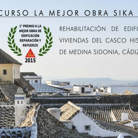 Rehabilitación estructural de edificio de viviendas, en c/ San Juan nº19 de Medina Sidonia